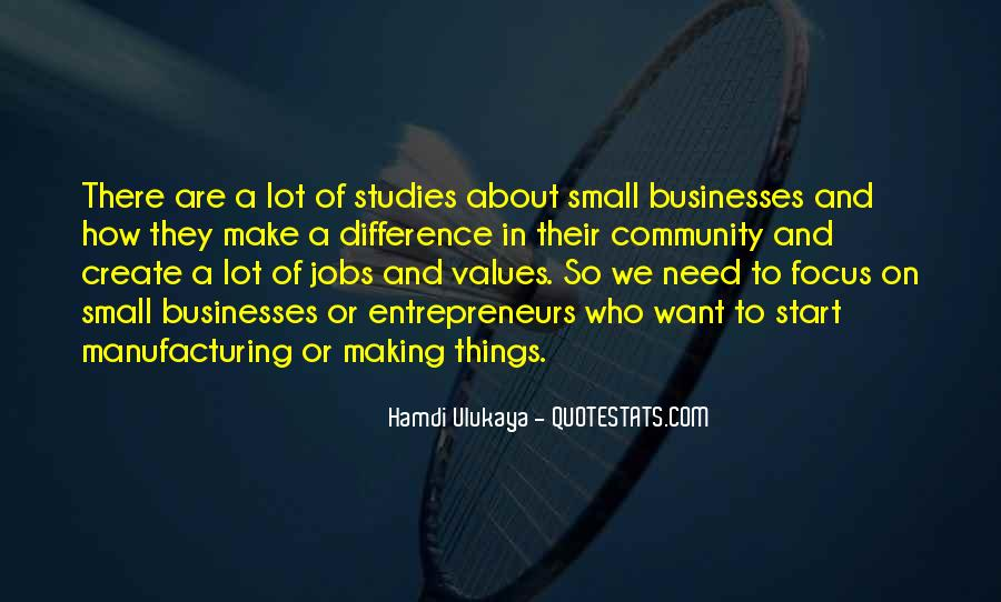 Quotes About Manufacturing #372498
