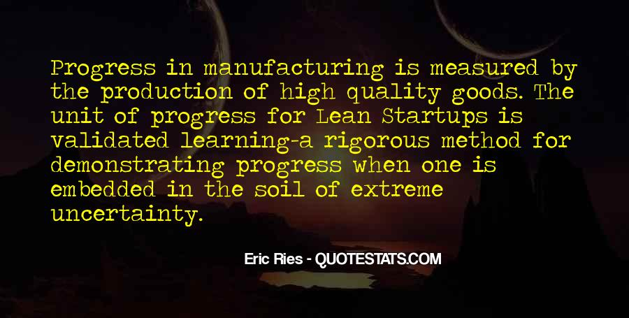 Quotes About Manufacturing #373448