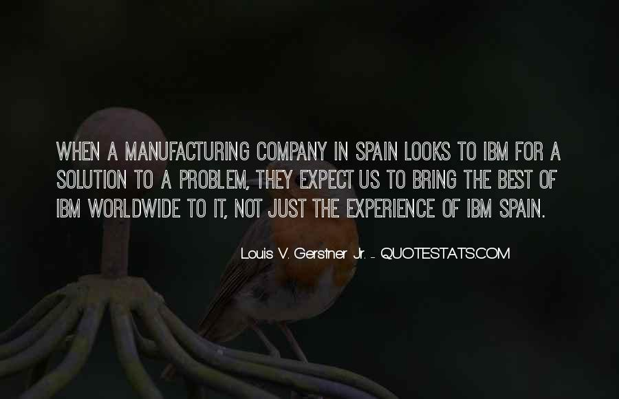 Quotes About Manufacturing #423619