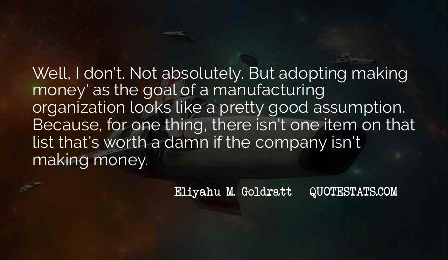 Quotes About Manufacturing #42719