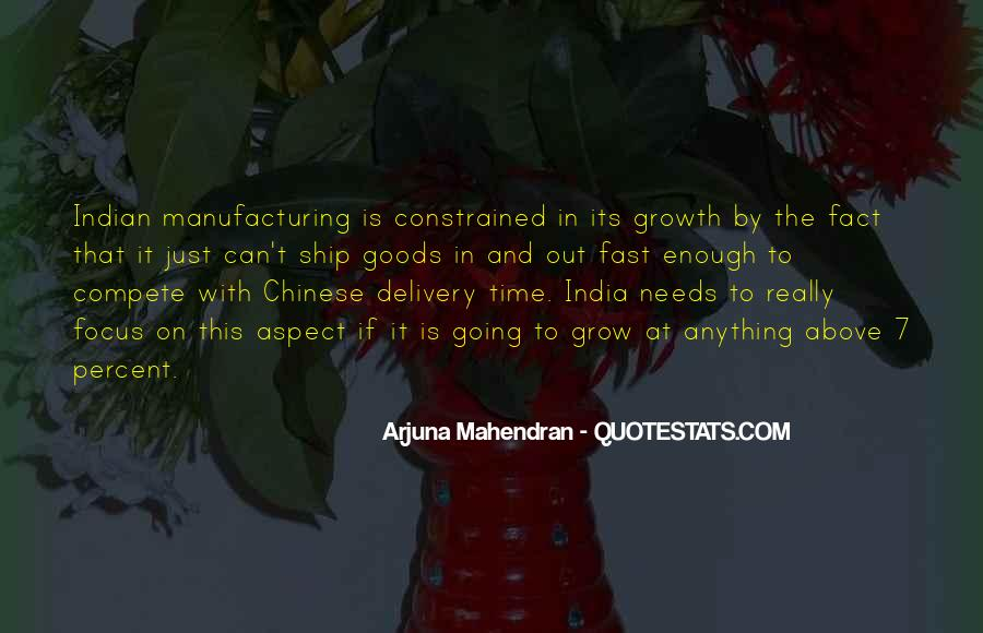 Quotes About Manufacturing #457188