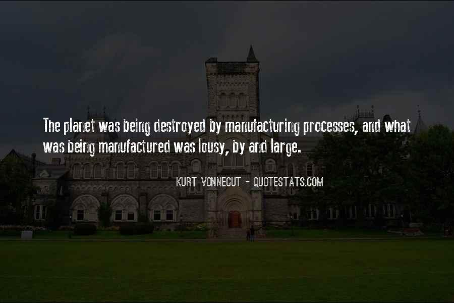 Quotes About Manufacturing #472231