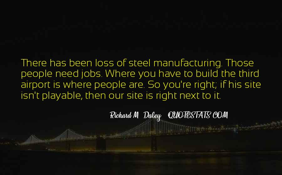 Quotes About Manufacturing #513364