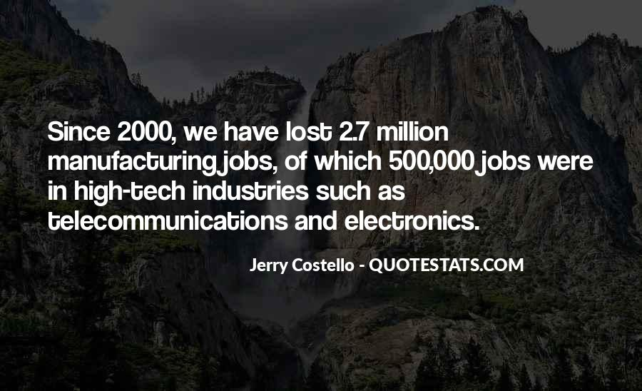 Quotes About Manufacturing #60313