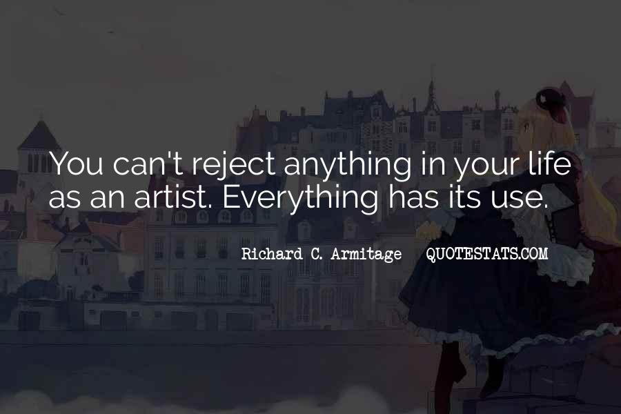 Quotes About Artist Life #110774