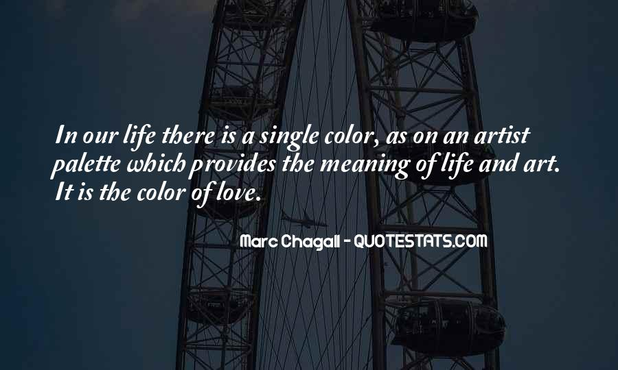 Quotes About Artist Life #117742