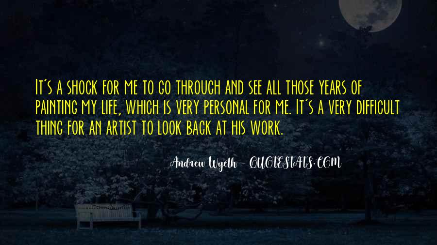 Quotes About Artist Life #133401