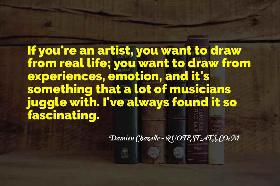 Quotes About Artist Life #152387