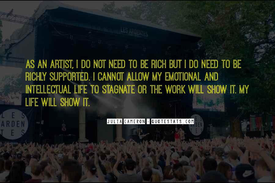 Quotes About Artist Life #153357