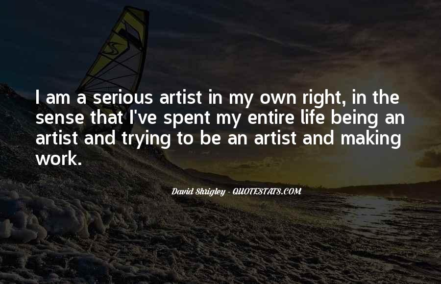 Quotes About Artist Life #157650