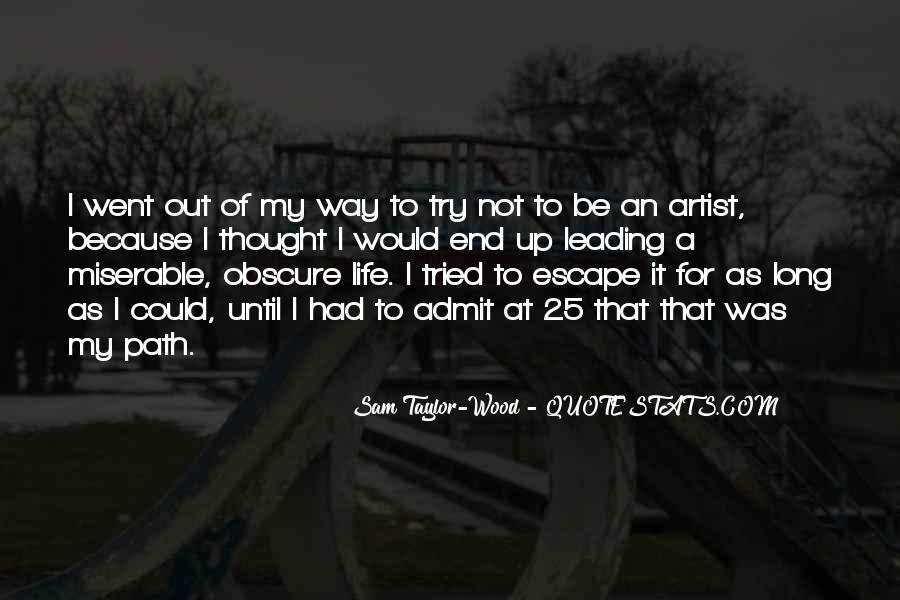 Quotes About Artist Life #172106