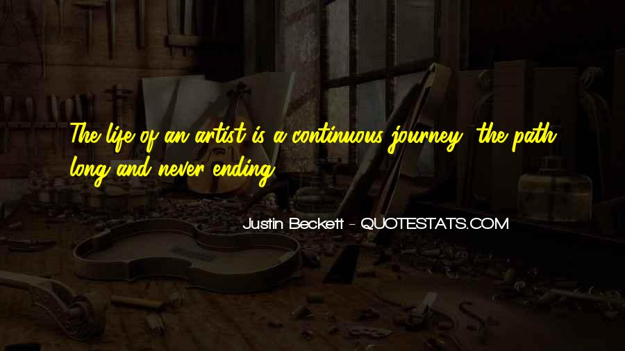 Quotes About Artist Life #178739