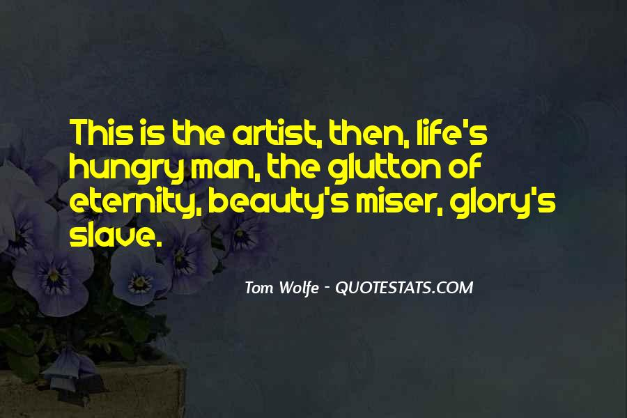 Quotes About Artist Life #187167