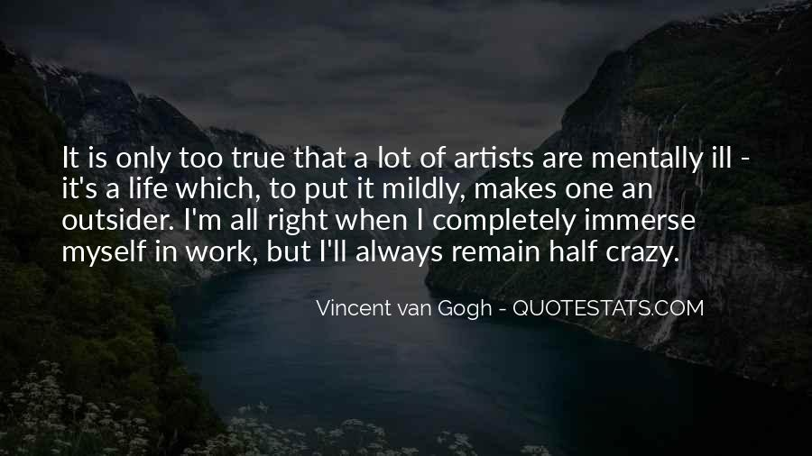Quotes About Artist Life #231466