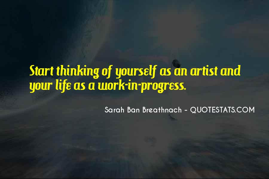 Quotes About Artist Life #245569