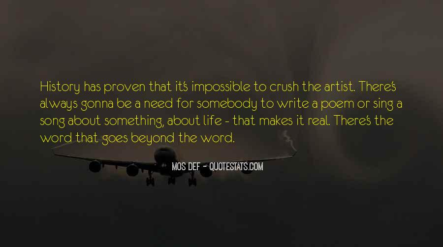 Quotes About Artist Life #59855