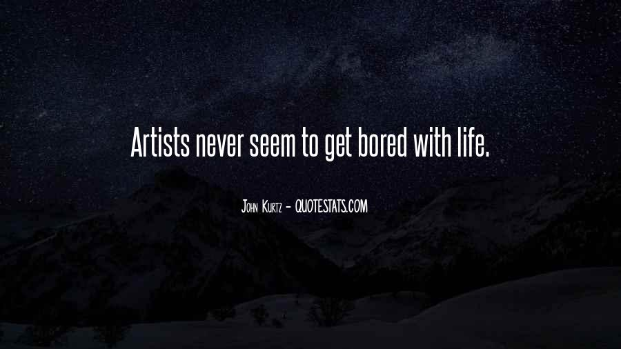 Quotes About Artist Life #72030