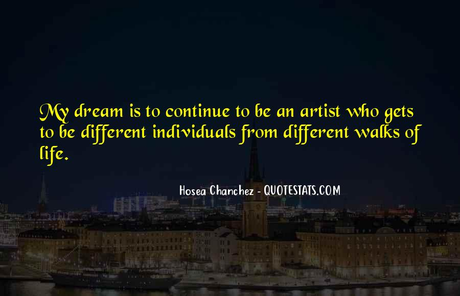 Quotes About Artist Life #72163