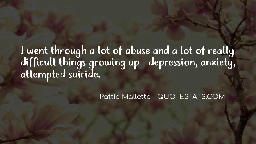 Quotes About Suicide And Depression #1145508