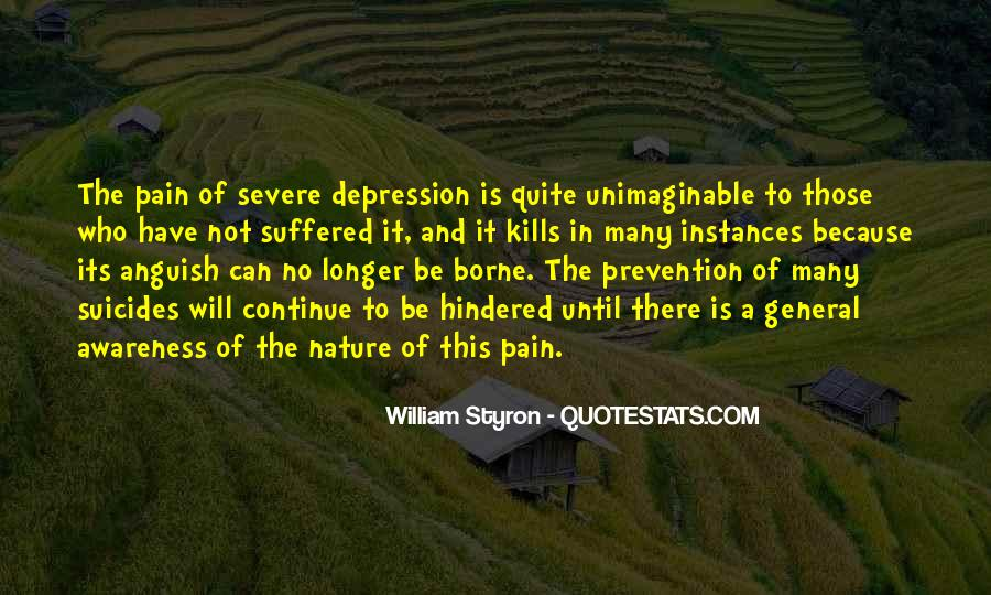 Quotes About Suicide And Depression #29391