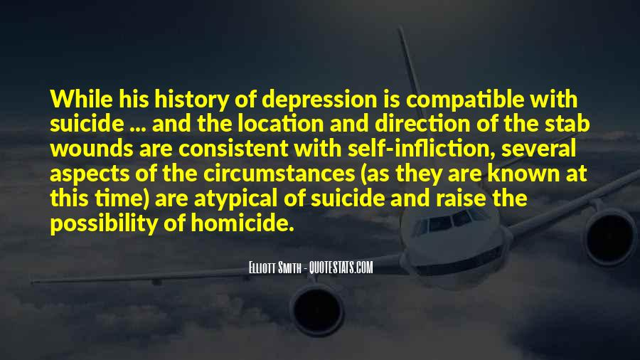 Quotes About Suicide And Depression #425403