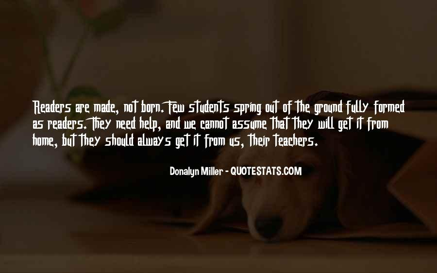 Quotes About Spring For Students #953050