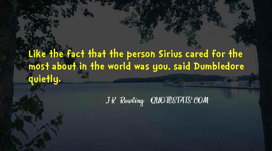 Quotes About Sirius And Harry #185818