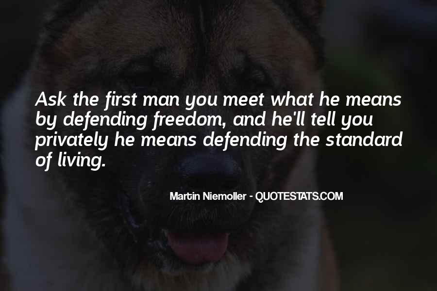 Quotes About Defending Yourself #128024