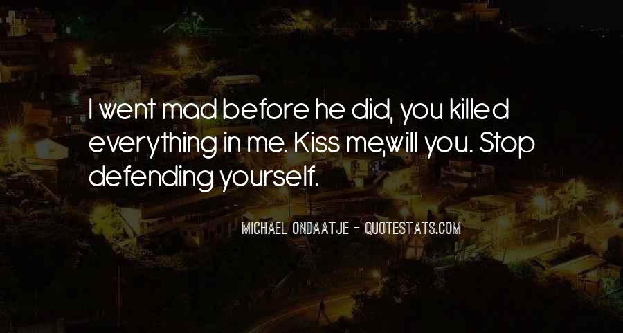 Quotes About Defending Yourself #155860