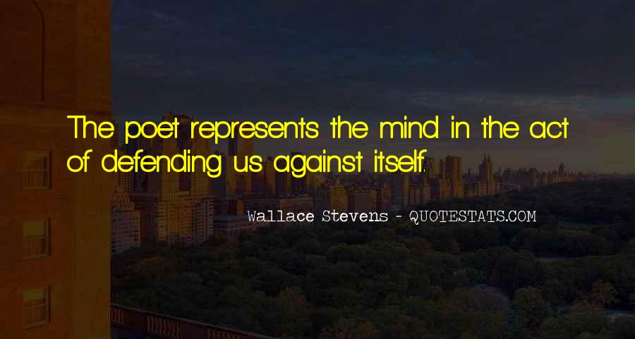 Quotes About Defending Yourself #162855