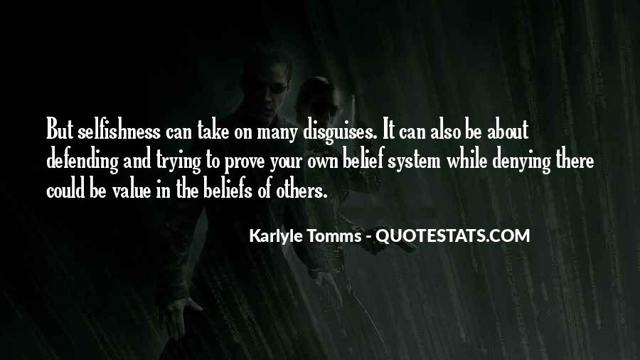 Quotes About Defending Yourself #173946