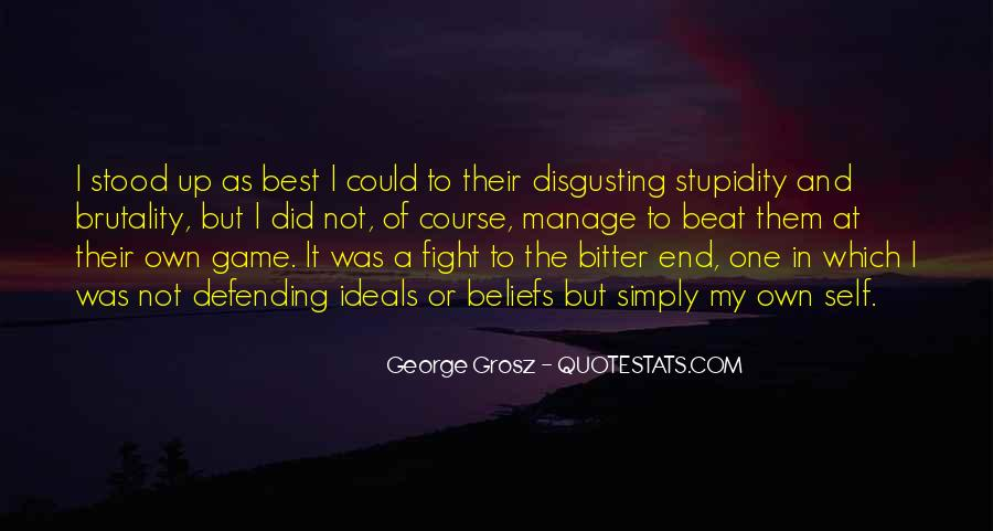 Quotes About Defending Yourself #250225