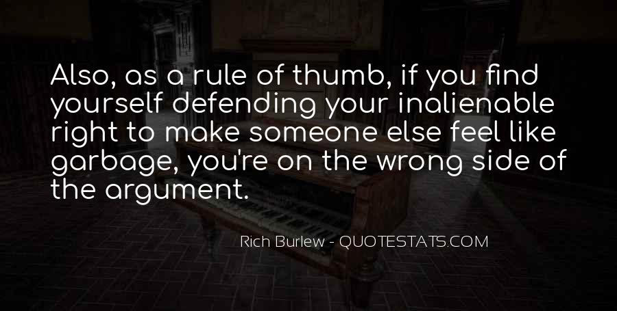 Quotes About Defending Yourself #25518