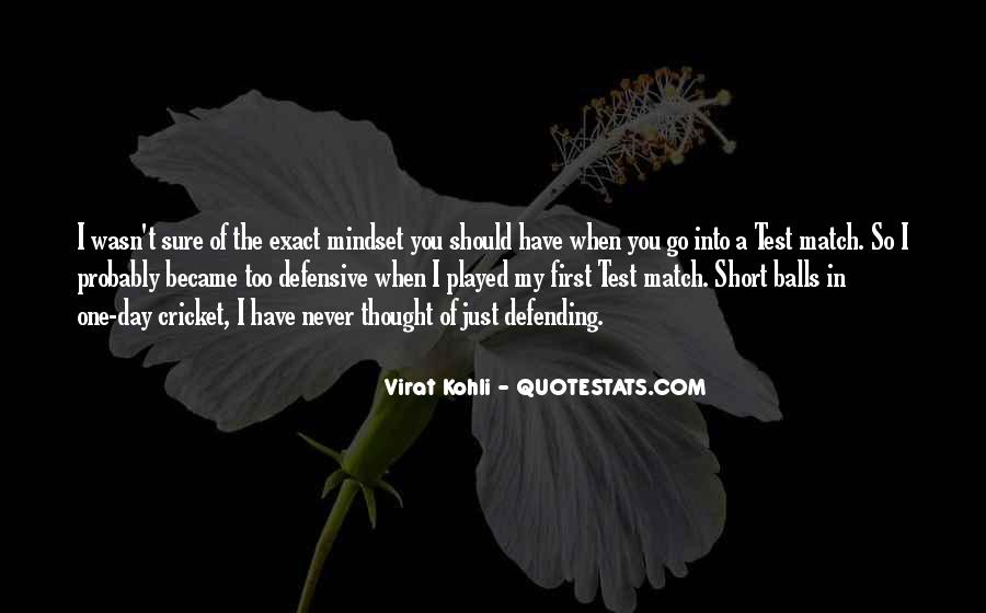 Quotes About Defending Yourself #27612