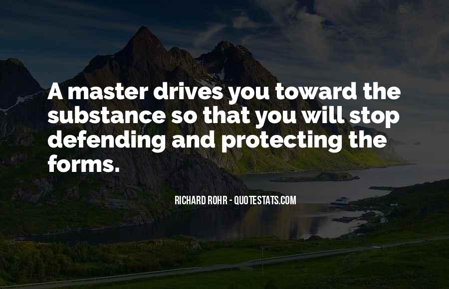 Quotes About Defending Yourself #308544