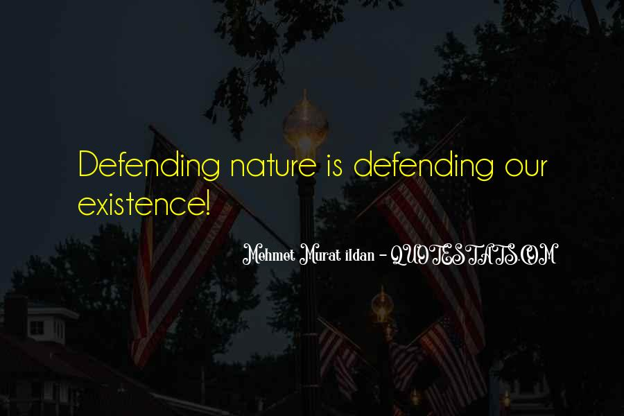 Quotes About Defending Yourself #31897