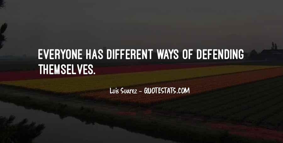 Quotes About Defending Yourself #364860