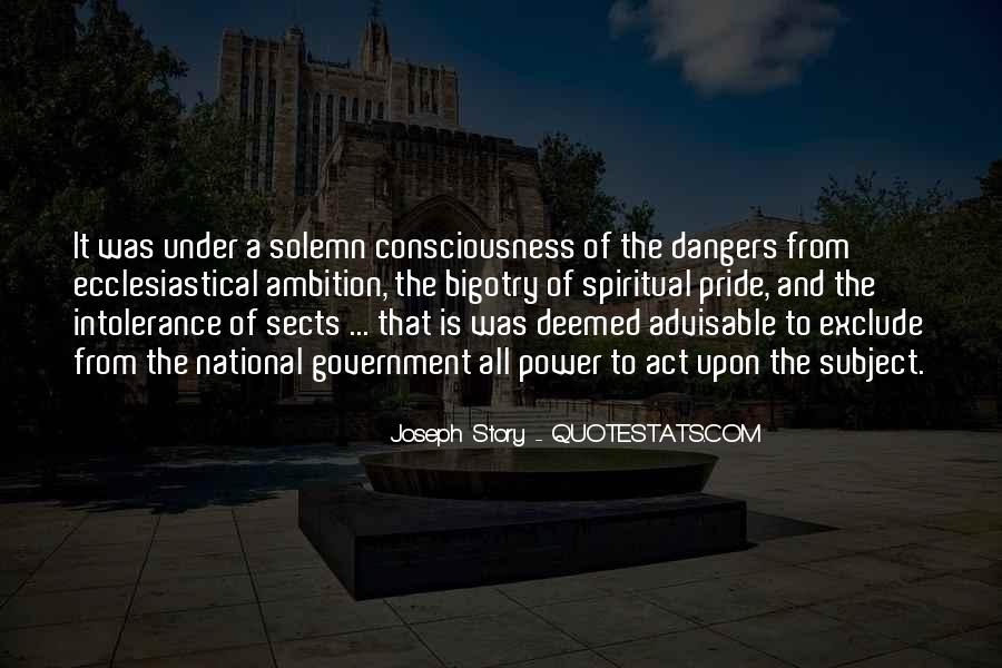 Quotes About Dangers Of Pride #1753370