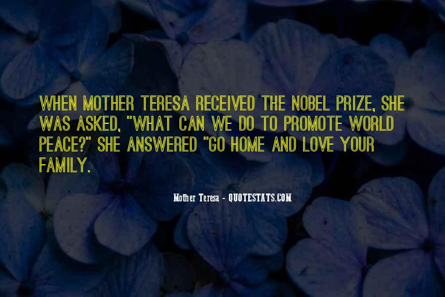 Quotes About Nobel Prize #204044