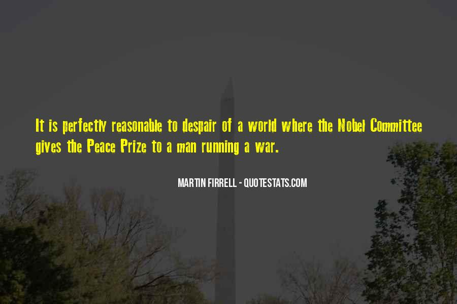 Quotes About Nobel Prize #235526