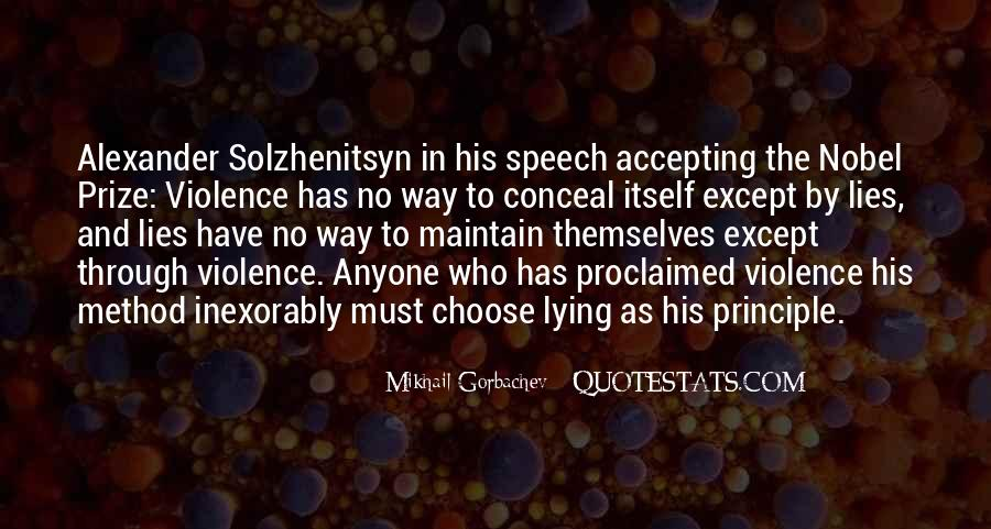Quotes About Nobel Prize #245905