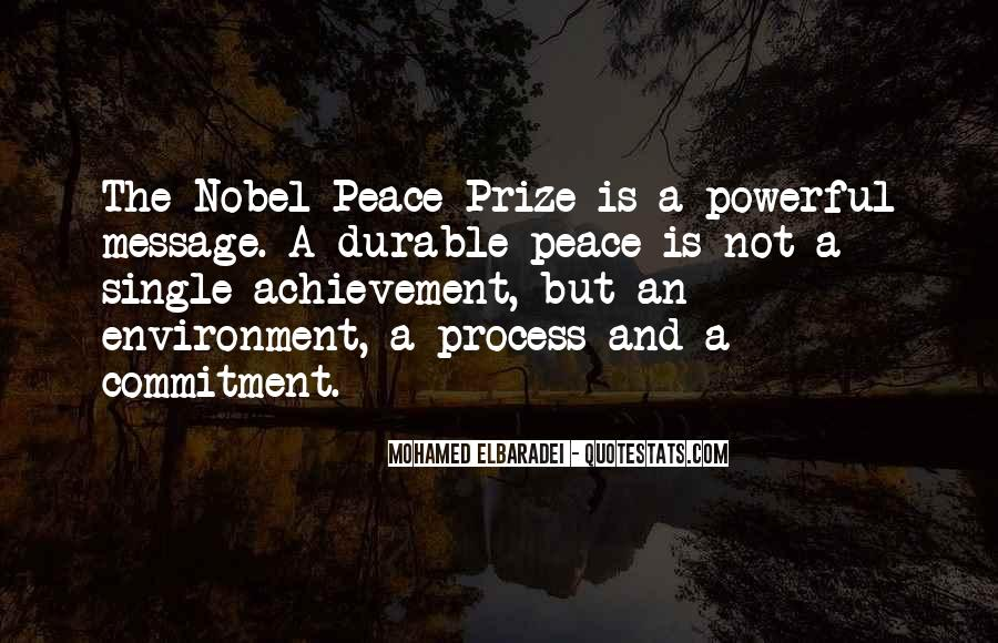 Quotes About Nobel Prize #288391