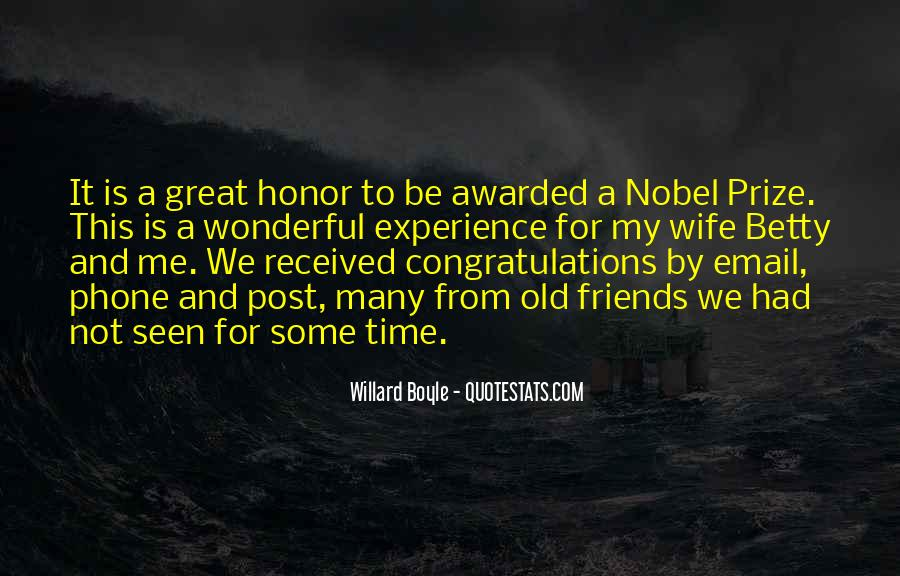 Quotes About Nobel Prize #336890