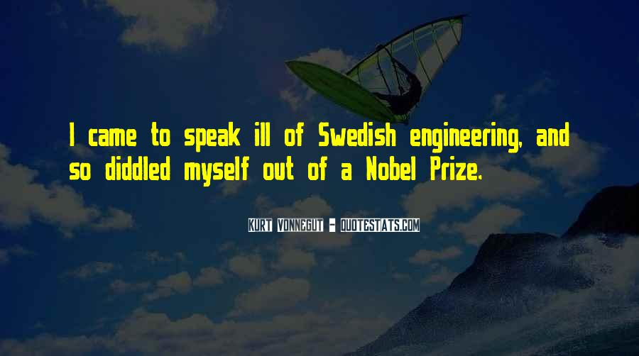 Quotes About Nobel Prize #424376