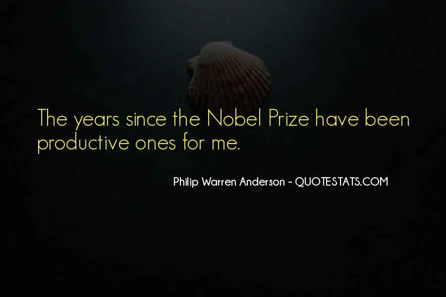 Quotes About Nobel Prize #431452