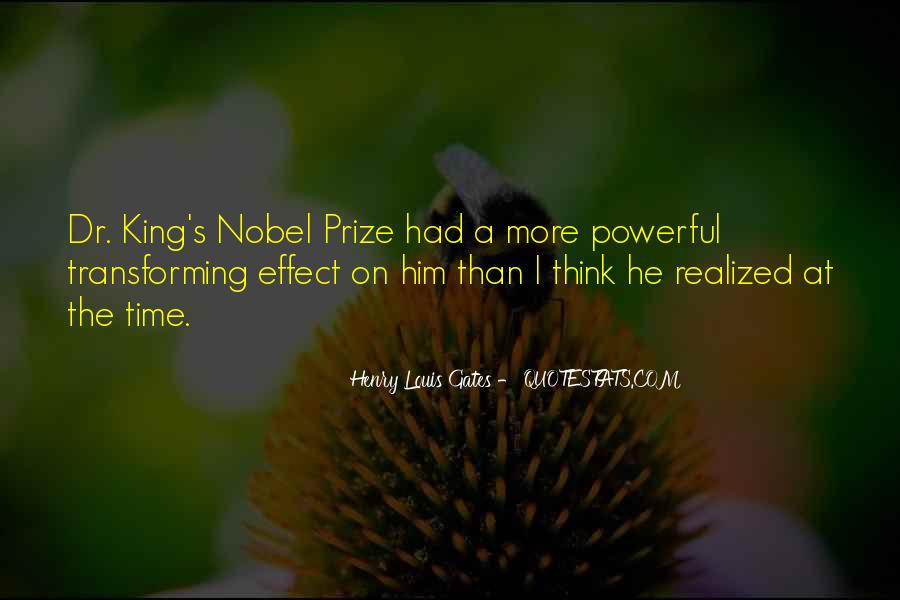 Quotes About Nobel Prize #43708