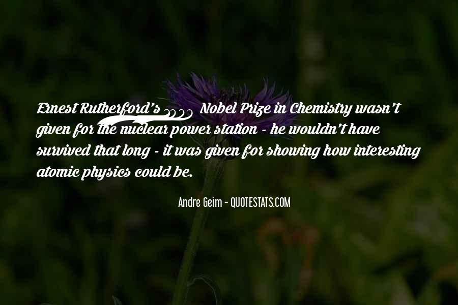 Quotes About Nobel Prize #466125