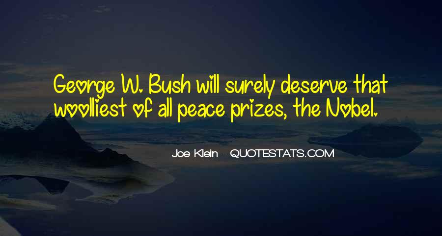 Quotes About Nobel Prize #564772
