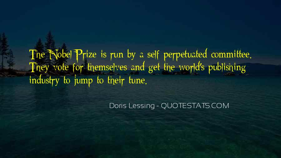 Quotes About Nobel Prize #614352