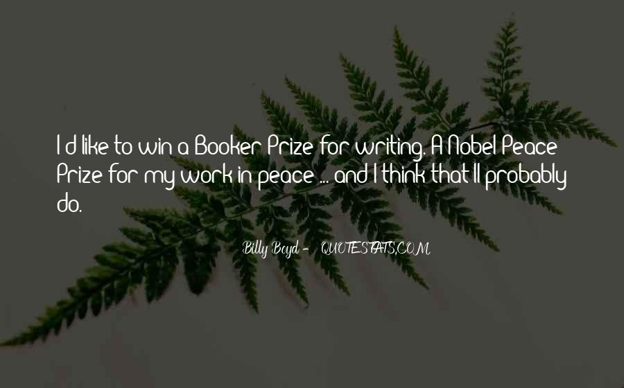 Quotes About Nobel Prize #636067